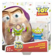 Disney Pixar Toy Story Twin Pack Buddies Flying Buzz Lightyear & Alien